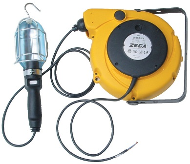 Carretel Automático Blindado, Com Lâmpada, Entrada 230V, Saída 12V / 24V - Zeca 5908/T306 - 1001929