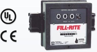 Medidor Mecânico Para Biodiesel, Conexões 1´, 4 Dígitos, Vazão 23 A 150 L/Min, Com Filtro - Fill Rite Bd901 Mk - 1002271