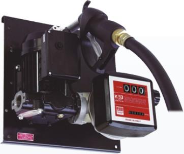 Bomba Elétrica 230V, Para Óleo Diesel, Com Medidor, 4M De Mangueira E Bico, Vazão 100 L/Min - Piusi  E 120 - 1002757