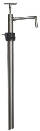 Bomba Manual De Inox Para Produtos Químicos E Agressivos Leves, Para Tambor De 200 Litros - 1003343