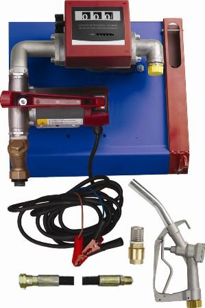 Unidade De Abastecimento Para Óleo Diesel, 12V, Com Medidor, 4M De Mangueira E Bico, Vazão 60 L/Min - 1006050
