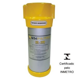 Filtro Cúpula Ks 200, Elemento Filtrante De Polipropileno, Vazão Até 40 L/Min - Usifiltros KS200 - 1012002