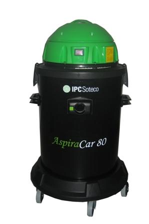 Aspirador De Pó E Água, 127V Ou 230V, Potência 1400W, Reservatório 80L - Soteco Aspiracar 80 - 6030003
