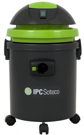 Aspirador De Pó E Água, 127V Ou 230V, Potência 1500W, Reservatório 27L - Soteco Speedy Eco - 6030004