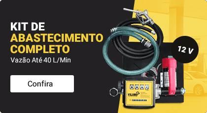 kit de abastecimento 12v para Óleo diesel, completo, vazão 40 l/min