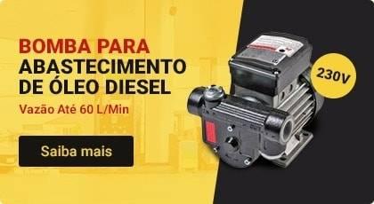 bomba de abastecimento de Óleo diesel, 230v, 60 l/min