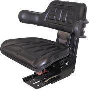 Assento Para Trator, Universal, Com Apoio Para Braços, Cor Preta - Bremen 8651