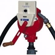 Bomba Rotativa Para Abastecimento De Gasolina, Diesel, Querosene, Solventes E Óleos Leves, 4M De Mangueira, Medidor E Bico,  Vazão 45 L/100 Rotações (Fill Rite - Fr112Cl) - 1002373