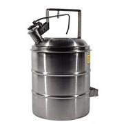 Container de Segurança Para Combustíveis e Líquidos Inflamáveis, À Prova de Explosão, Em Inox, 18,9 Litros - 2006614