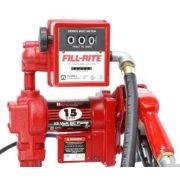 Kit De Abastecimento Bivolt, Para Óleo Diesel E Querosene, Com Medidor, 4M De Mangueira E Bico Manual, Vazão 120 L/Min - Fill Rite FR311 - 8002007