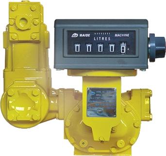 Medidor Volumétrico Com Registrador, Em Aço Carbono, Para Óleo Diesel, Gasolina e Querosene, Conexões 3