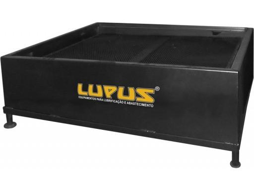 Bacia De Contenção, Em Aço, Capacidade Para 2 Tambores De 200 Litros - Lupus 9300 B400 - 5003047