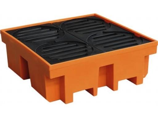 Bacia De Contenção, Em Polietileno, Capacidade Para 4 Tambores De 200 Litros - Lupus 9300 BP800 - 5003041