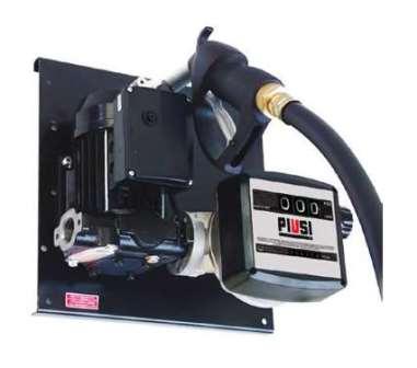 Bomba De Abastecimento Elétrica Para Óleo Diesel, 230V, Com Medidor, 4M De Mangueira E Bico, Vazão 56 L/Min - Piusi 1002334