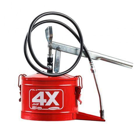 Bomba Manual Para Graxa Com Reservatório de 4 kg - 6006433