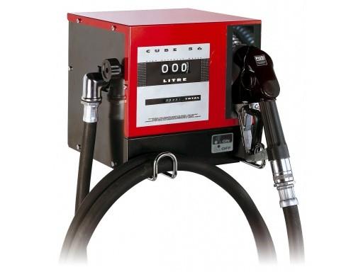 Estação de Abastecimento Para Óleo Diesel, 230 V, Com Medidor, 4M De Mangueira E Bico Automático, Vazão 60 L/Min - Piusi - 1002326