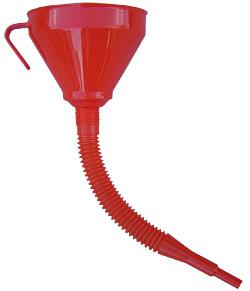 Funil De Polietileno Com Extensão Flexível, Com Peneira, 160 mm De 1,3 Litros - 1002110