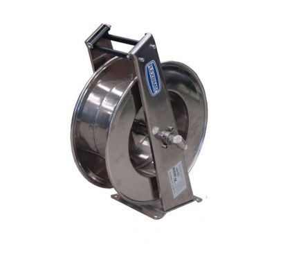 Carretel Retrátil Em Aço Inox Para Arla e Água, Conexões 1