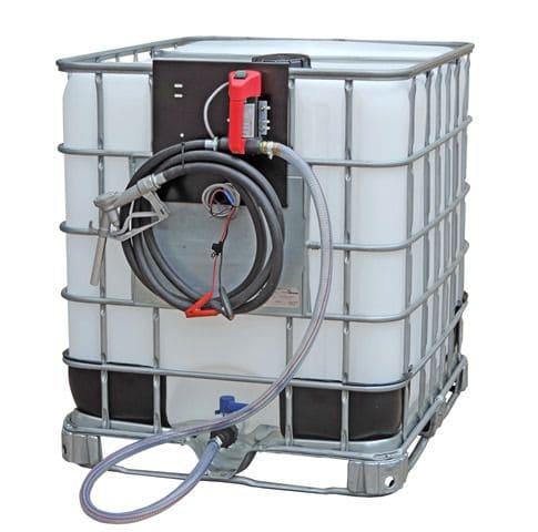 Conjunto Para Abastecimento De Óleo Diesel 12v, Vazão 40 l/min, Com Reservatório IBC De 1000 Litros Com Inmetro - 5004831
