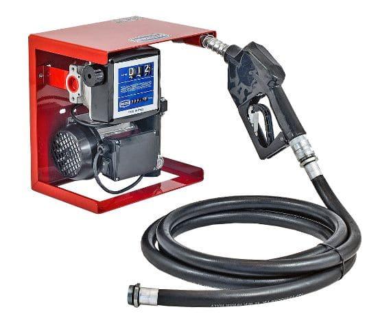 Conjunto Para Abastecimento De Óleo Diesel 230V, Com Medidor, 4M De Mangueira E Bico Automático, Vazão 55 L/Min - 7006738