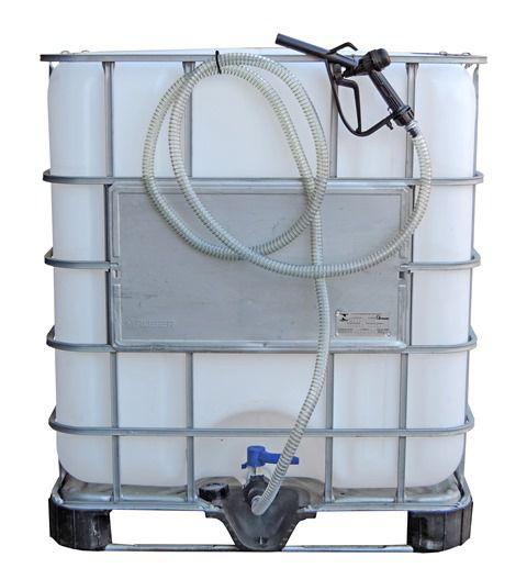 Conjunto Para Abastecimento Por Gravidade, Com Reservatório IBC De 1000 Litros Homologado Pelo Inmetro - 6008678