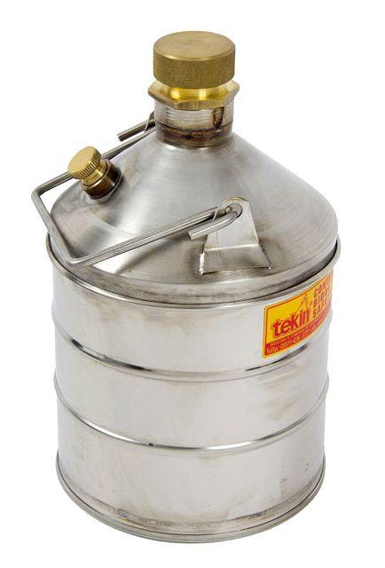 Container de Segurança Para Combustíveis e Líquidos Inflamáveis, À Prova de Explosão, Em Inox, 50 Litros TK305L - 2006650