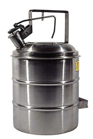 Container de Segurança Para Combustíveis e Líquidos Inflamáveis, Anti Explosão, Em Inox, 5 Litros - 2006613