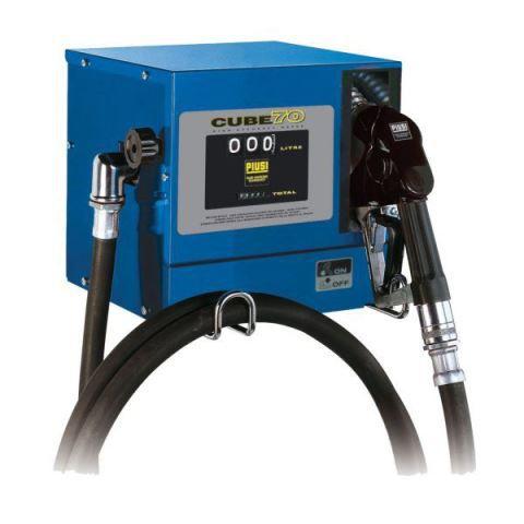 Estação de Abastecimento Para Óleo Diesel, 230 V, Com Medidor, 4M De Mangueira E Bico Automático, Vazão 80 L/Min - Piusi - 1002327