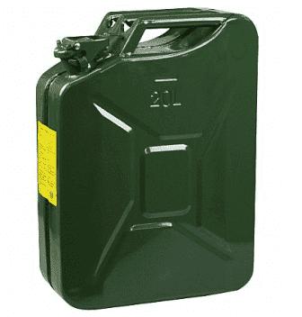 Galão Para Combustíveis, Em Metal, Chapa 0,6mm, 20 Litros - 1006614