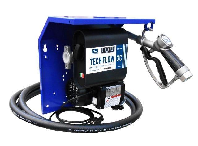 Kit De Abastecimento Para Óleo Diesel, 230V, Com Medidor, 4M De Mangueira E Bico, Vazão 80 L/Min - Adam Pumps 2002101