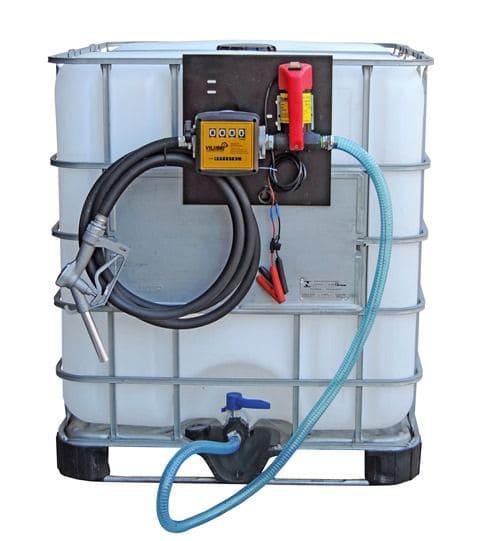 Kit De Abastecimento Para Óleo Diesel, Com Bomba 12V Com Vazão de 40 l/min e Reservatório De 1000 Litros - 7007168