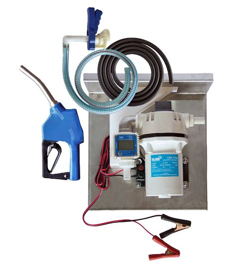 Kit Para Abastecimento De Arla 32, 12V, Vazão 35 L/Min, Bico Automático - Vilubri 1001752