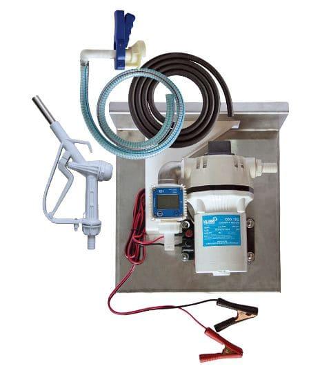Kit Para Abastecimento De Arla 32, 12V, Vazão 35 L/Min, Bico Manual - Vilubri 1001750