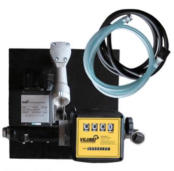 Kit Para Abastecimento De Óleo Diesel, 230V, Com Medidor, 4M De Mangueira E Bico, Vazão 60 L/Min - 1001206