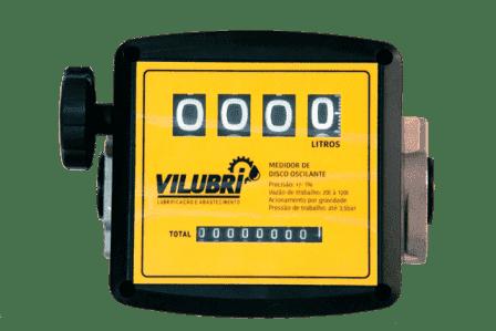 Medidor De Fluxo Para Óleo Diesel, Vazão 20 A 120 L/Min, 4 Dígitos - 1001247