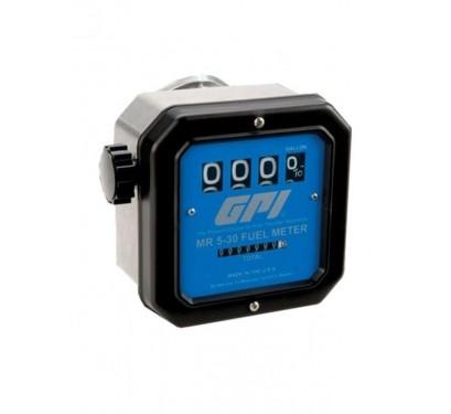 Medidor De Vazão Para Combustíveis De Aviação, Mecânico, 4 Dígitos, Vazão De 19 Até 114 L/Min - GPI 7912