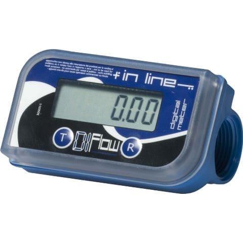 Medidor Digital Para Arla E Água, Vazão 5 A 150 L/Min, Conexões 1' - Adam Pumps 1008328