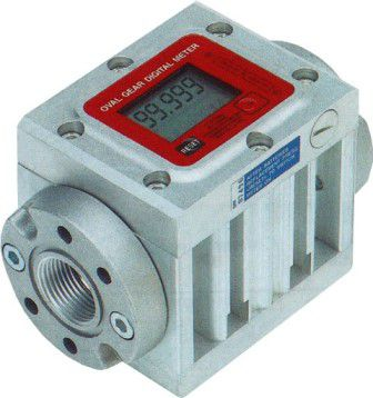 Medidor Digital Para Óleo Diesel E Lubrificante, 5 Dígitos, Vazão 15 A 150 L/Min - Piusi K600/4 - 1002253