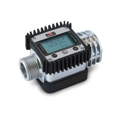 Medidor Piusi K24, Para Gasolina, Óleo Diesel, Querosene e Água, Digital, Vazão 7 A 120 L/Min - 1004546