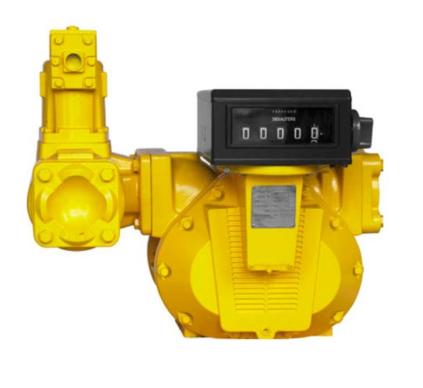 Medidor Volumétrico Com Registrador, Em Aço Carbono, Para Óleo Diesel, Gasolina e Querosene, Conexões 4