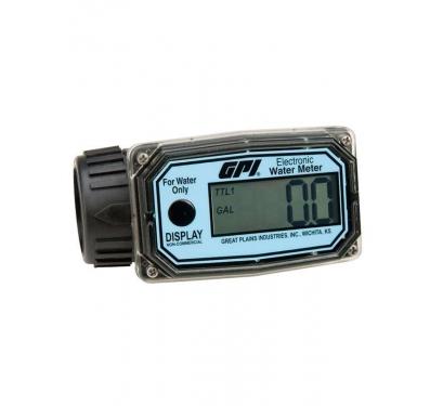 Medidor Digital Para Água, 4 Dígitos, Vazão 10 A 100 L/Min - GPI 01N12Lm - 1002245