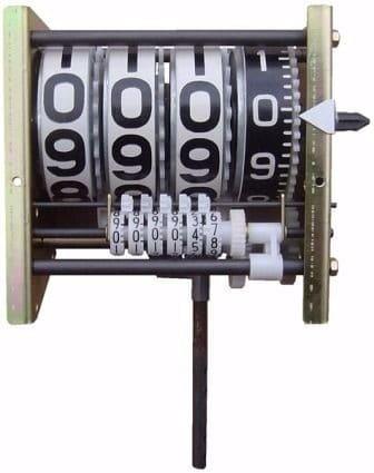 Numerador Para Bloco Volumétrico e Bombas Industriais, 4 Digitos Parcial, 6 Digitos Total, Direito - 6001167