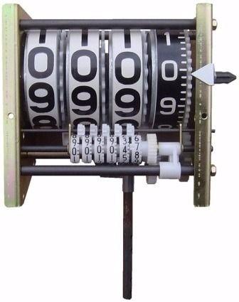 Numerador Para Bloco Volumétrico e Bombas Industriais, 4 Digitos Parcial, 6 Digitos Total, Esquerdo - 1003624