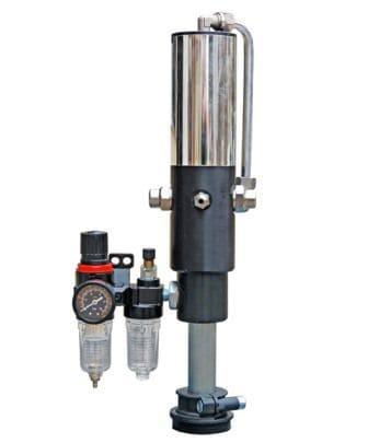 Propulsora Pneumática Para Graxa 100:1, Para Tambor De 200 Kg, Vazão 2700 G/Min - Flexbimec 4081