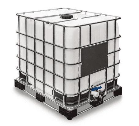 Reservatório IBC Para Combustíveis, Gaiola Em Aço, 1000 Litros, Com Inmetro - 1004347