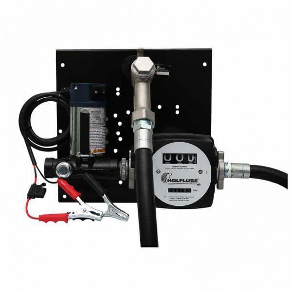 Unidade De Abastecimento 24V Para Óleo Diesel, 5M De Mangueira, Bico Manual E Medidor, Vazão 40 L/Min - Lupus 4006249