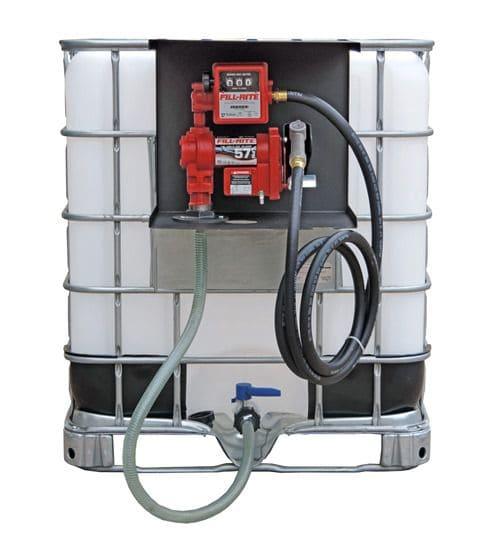 Unidade Para Abastecimento De Gasolina, Óleo Diesel e Querosene, À Prova De Explosão, 230V, Vazão 76 L/Min, Com IBC De 1000 Litros - Fill Rite 8004350