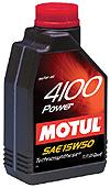 Óleo Motul 4100 10W40 Turbolight
