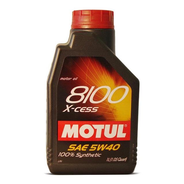 Óleo Motul 8100 5W40 X-Cess