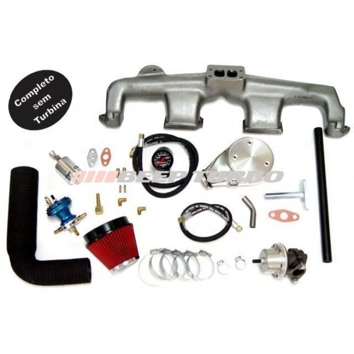 Kit turbo GM - Opala 6cc sem Turbina